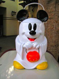 Mickey Mouse Ghost Popcorn Bucket