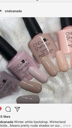 Opi Shellac Nail Colors Best Of Cnd S Nail Ideas In 2019 - shellac nails Cdn Shellac Colors, Gel Polish Colors, Cnd Colours, Shellac Nail Art, Shellac Manicure, Nail Polish, Nail Nail, Vernis Gel Uv, Nailart