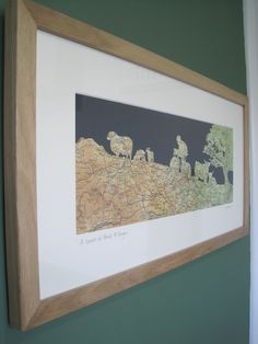 Oak frame-papercut-Kate Thornton-Peaks & Troughs Paper Cutting, Frame, Pictures, Home Decor, Picture Frame, Photos, Decoration Home, Room Decor, Frames