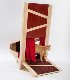 Imaginative And Bold Cat Houses With Futuristic Designs