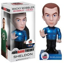 Star Trek Big Bang Theory Sheldon Metallic Chase Variant Wacky Wobbler @ niftywarehouse.com #NiftyWarehouse #BigBangTheory #TV #Show #BigBangTheoryShow #BigBangTheoryTVShow #Comedy