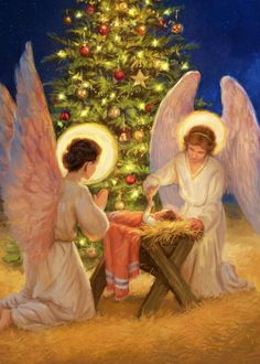 Leading Illustration & Publishing Agency based in London, New York & Marbella. Christmas Jesus, Christmas Nativity, Christmas Art, Christmas Decorations, O Holy Night, Favorite Cartoon Character, Christmas Drawing, Jesus Pictures, A Child Is Born