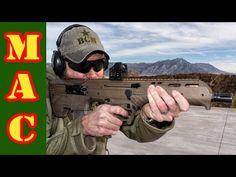 Desert Tech - MDR Bull-Pup, Suppressors, & R7S Chassis - SHOT Show 2015 - YouTube
