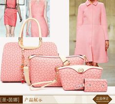 TAS IMPORT KODE: 34800 (4IN1) IDR.226.000  MATERIAL PU  SIZE L33XH22XW14CM  WEIGHT 1000GR  COLOR PINK
