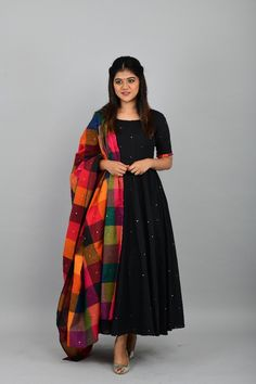 BS Presents Bollywood gown Catalogue of Banglori silk satin fabric party wear black colour Designer gown with pearl work at affordable price buy online from Surat exporters - Ethnic Collection Indian Fashion Dresses, Indian Gowns Dresses, Dress Indian Style, Indian Designer Outfits, Pakistani Dresses, Indian Outfits, Designer Dresses, Indian Long Dress, Diwali Dresses