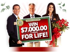 $7,000.00 A Week For Life Prize Patrol