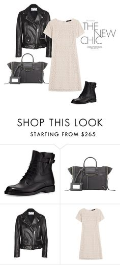 """""""Biker-The New Chic"""" by allmusts on Polyvore featuring Lanvin, Balenciaga, Acne Studios, Steffen Schraut, women's clothing, women, female, woman, misses and juniors"""