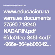 www.educacion.navarra.es documents 27590 718240 NADARIN.pdf 6fdc04ec-845f-4cd7-966e-564eb0804215