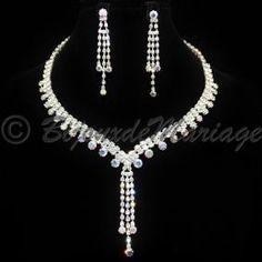 AURORA, parure bijoux