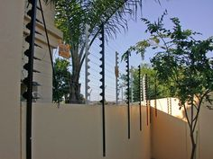 Diy Home Security Electric Fence Home Art intended for proportions 3000 X 1688 Electric Security Fence For House - Fence lamps is a significant thing to Diy Home Security, Safety And Security, Security Fencing, Electric Fence Posts, Electric Fencing, Electric House, Steel Fence, Diy Fence, Shipping Container Homes