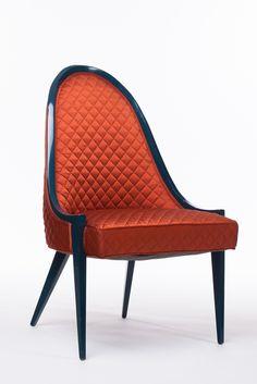 1stdibs.com   Harvey Probber Gondola Chair