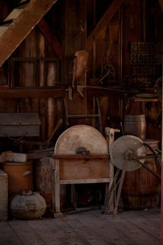 Taken in the Historical Village in Pella, Iowa Explored May 2011 Antique Tools, Vintage Tools, Sharpening Tools, Shops, Tool Sheds, Flea Market Finds, Old Barns, Country Primitive, Blacksmithing