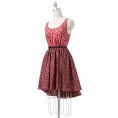 LC Lauren Conrad Floral Shirred Dress, Kohl's, $64.00