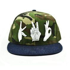1089e7d01b8 Camouflage embroidery Flat Brim Cap Wholesale The MOQ is 50pcs per  design color style