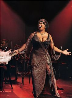 Mama Morton played by Queen Latifah