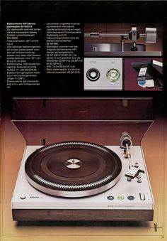 Philips turntable