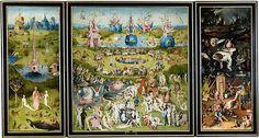ヒエロニムス・ボス - Wikipedia   「快楽の園」(1480-1500年頃)
