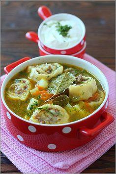 Картофельный суп с ленивыми пельменями. Обсуждение на LiveInternet - Российский Сервис Онлайн-Дневников