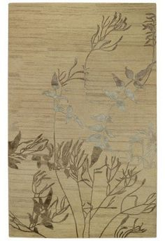 Capel Rugs Brock Haven-Bramble Collection Candlelight Rug