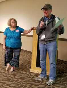 Devra Eisen and Alvin Holtzman were Kvell and Tell speakers at the June 25, 2017, Jewish Genealogical Society of Illinois meeting.