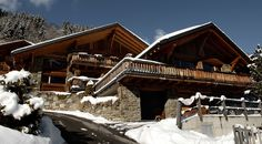 Ski House of the Day: Smart Swiss Chalet