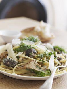 Mushroom & Dill Pasta