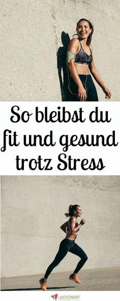 Du hast viel #Stress, willst aber trotzdem #gesund und #fit bleiben? Hier kommen die besten Tipps für #Training, #Ernährung und #Selbstfürsorge in stressigen Phasen. Motivation, Girl Power, Promotion, Stress, Health Fitness, Movies, Movie Posters, Inspiration, Train Food