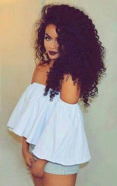 Love her hair!