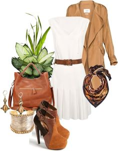 """It's Alarming How Charming I Feel"" by deborah-simmons ❤ liked on Polyvore"