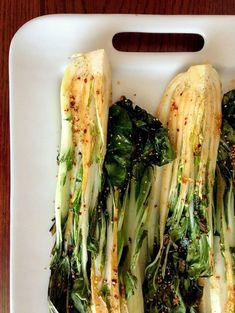Spicy Roasted Bok Choy | 27 Of The Most Delicious Things You Can Do To Vegetables