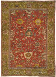 SULTANABAD, West Central Persian 10ft 8in x 14ft 4in Late 19th Century