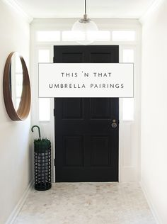 umbrella + stand pairings | coco+kelley