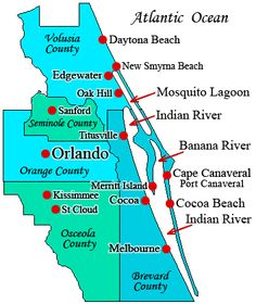 Coco Beach Florida Map.8 Best Cape Canaveral Beach Resort Images Florida Vacation