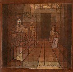 Perspective with Open Door, 1923 Paul Klee