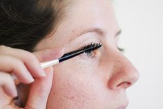 how to make your lashes grow longer naturally. #fluttertastic