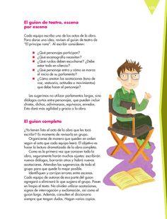 Quinto - Español14 - Bloque 4 - Escribir una obra de teatro con personajes de textos narrativos