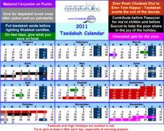 FREE Tzedakah Calendar Card and Magnet on http://www.icravefreebies.com/