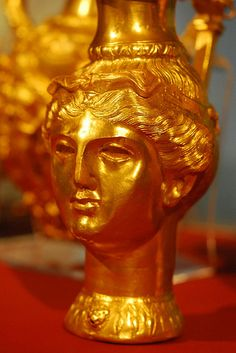 Rhyton ,from Panagyurishte Treasure,3rd Cent.BC Thracian