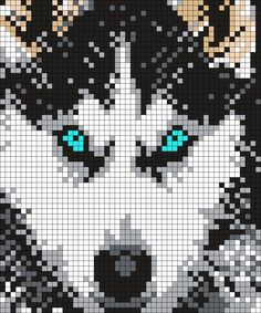 Husky by Maninthebook on Kandi Patterns