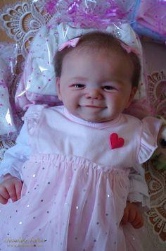 KAMILKA: James - Sandy Faber:Dolls as Live Made with Love - SUNSHINE BABIES (smile - reborn dolls) Girls Dresses, Flower Girl Dresses, Baby Smiles, Reborn Dolls, Sunshine, Babies, Live, Wedding Dresses, Gallery