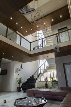 Residence Interior Details Add Consistency And Character To The House House Arch Design, House Ceiling Design, Ceiling Design Living Room, Home Stairs Design, Bungalow House Design, Home Room Design, Home Interior Design, Down Ceiling Design, Dream House Interior