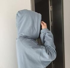 You would see me in a hoodie often, I dislike my body.