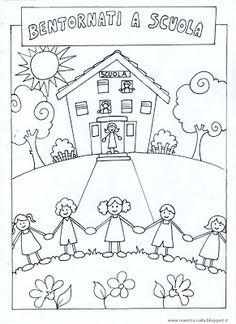Ο δάσκαλος: κάρτες «Καλώς» και «Καλώς ήρθατε και πάλι» Penguin Coloring Pages, Free Kids Coloring Pages, Colouring Pages, Coloring Pages For Kids, School Coloring Pages, Kindergarten Crafts, Preschool Activities, Drawing For Kids, Art For Kids