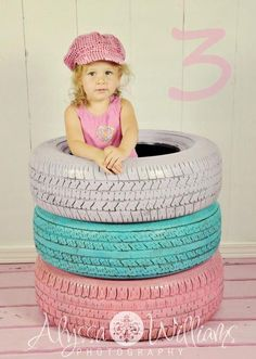 Cute for any age but this would be super cute with a pink mud tire for bailey's upcoming newborn pictures