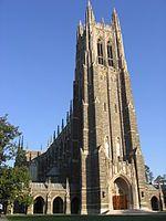 Duke Memorial Chapel, Duke University N.C.