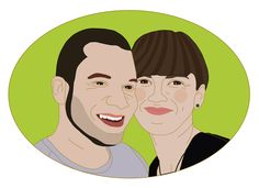 Sylwia i Michał #portret #portrety #portrait #portraits #couple_portrait #coupleportrait #portretpary #portret_pary #grafika #graphics #prezent #gift #dziewczynaichlopak #dziewczyna_i_chlopak #dziewczyna #chlopak #girl #boy #panipani #pan_i_pani #pamiatka
