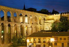 Acueducto de Segovia - #España  Aqueduct of Segovia - #Spain