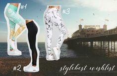 Stylebest Wishlist by 35mminstyle #wishlist #activewear #sport