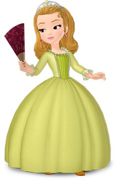 Amber from Sofia the First - Disney Wiki | Amber paper doll or Amber paper graphic for cut out or to make into a magnetic character.