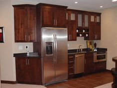 basement kitchenette design ideas, pictures, remodel, and decor
